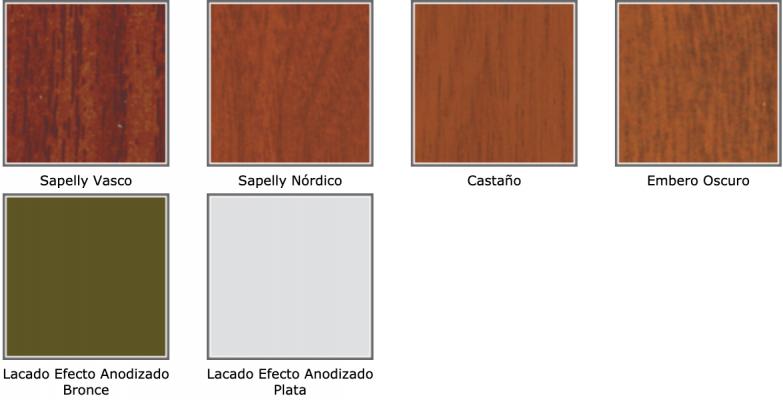 acabados efecto madera 2 - puertas acorazadas camino