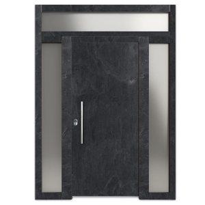 pizarra graphite montada - Puertas Acorazadas Camino